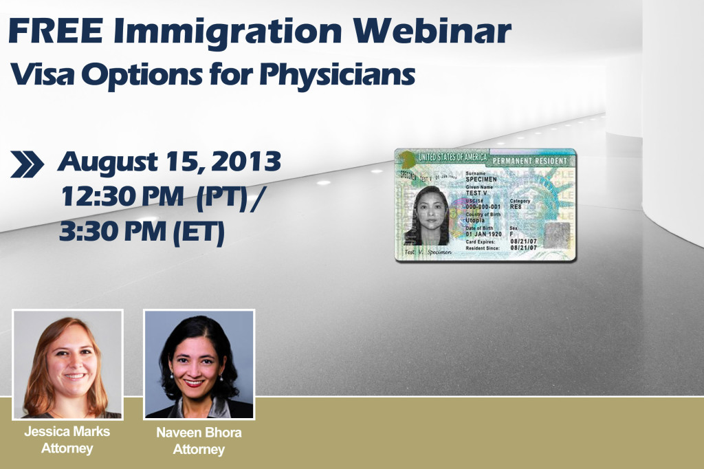 Free Immigration Webinar