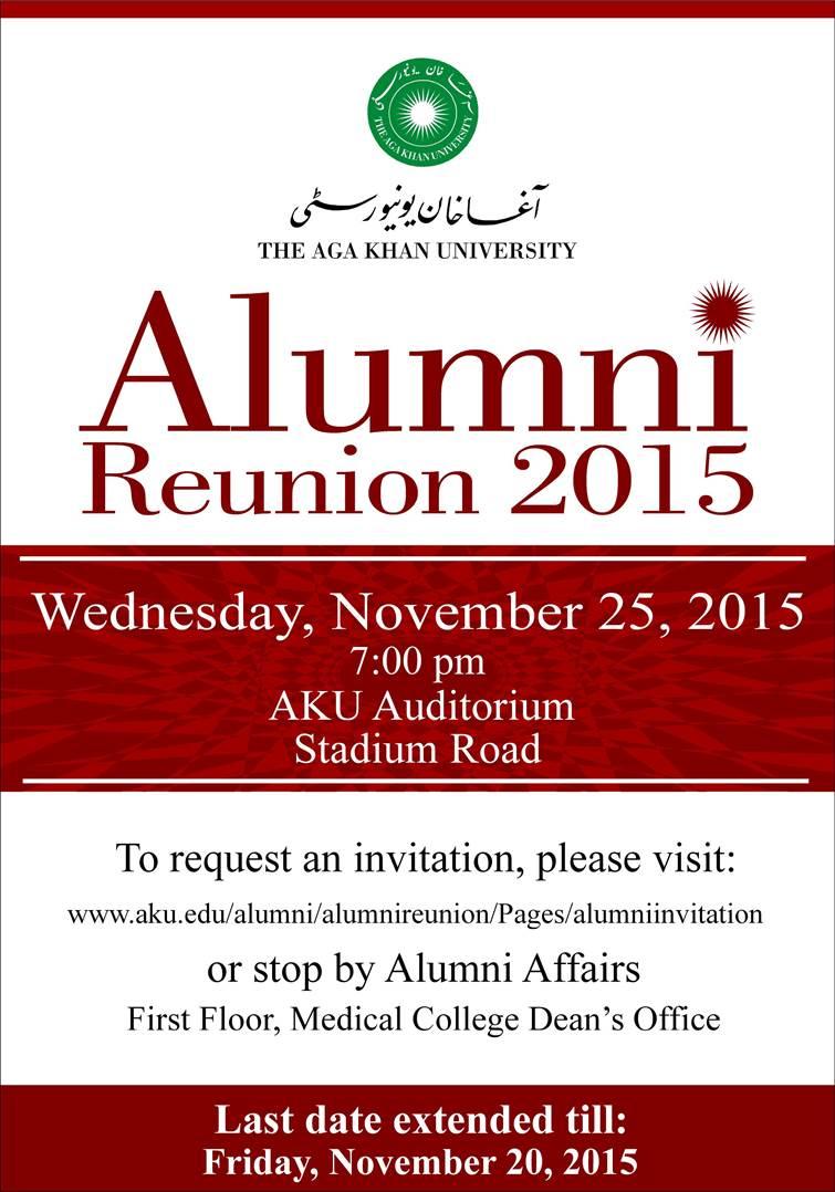 AKU Alumni Reunion, 2015